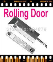 Free Shipping Rolling Magnetic Sensor Alarm Door Security System  Rolling Door Magnetic Contact Sensor Detector  GSM Home Alarm