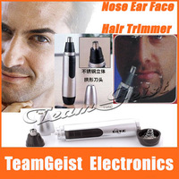 8pcs/lot NEW Electric Nose Ear Face Hair Trimmer Shaver Clipper Cleane Men's Beauty care with original package Free Shipping