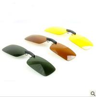 Myopia sunglasses clip myopia polarized sun glasses night vision clip sunglasses clip for daily use