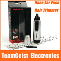 Brand New Electric Nose Ear Face Hair Trimmer Shaver Clipper Cleane Men's Beauty care with original package box Free Shipping