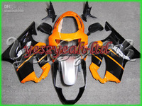 H193 Orange black Faiirng Kits For CBR600F4 99 00 CBR600 F4 1999 2000 CBR600F4 99 00 1999 2000