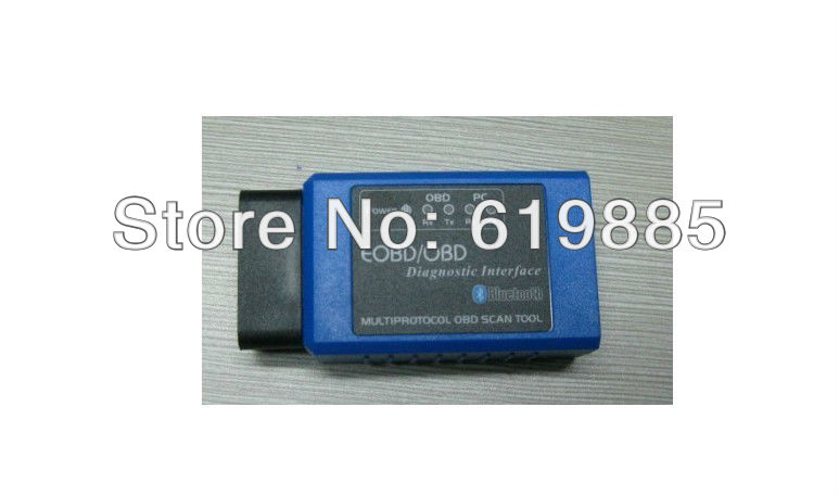 V1.4 ELM327 OBDII OBD 2 Scanner Car Diagnostic Interface Scan Tool Cable Fuel Consumption Can Be Measured Wholesale Free Ship(China (Mainland))