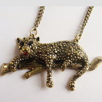 Accessories 2013 leopard vintage necklace fashion c34 fashion accessories
