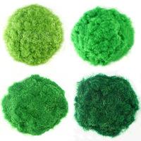 Diy sand handmade model 4 green turf nylon meal