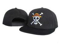 "Hot Sale Boy Cartoon Hat ""one piece"" High Quality King of Pirates Snapback Hat Cheap Price Baseball Cap Wholesale Hip Hop Hat"