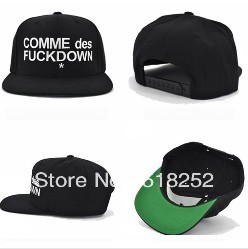 wholesale men hat fashion fuckdown hat men custom stocking snapback hat adjustable women hat cap, Free Shipping by EMS or FEDEX(China (Mainland))