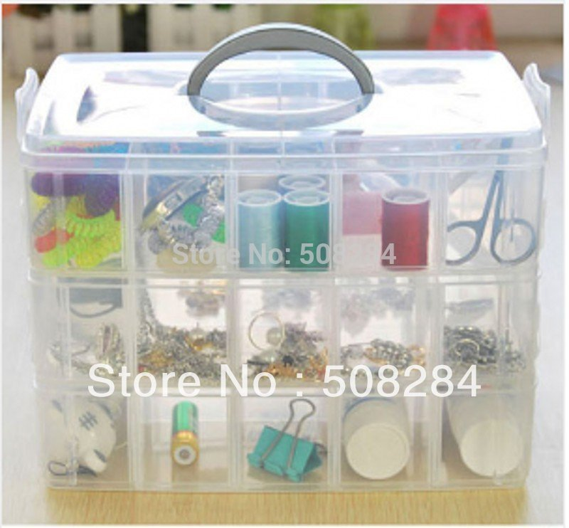 Large 3 layer 30 PP box portable Storage box(China (Mainland))
