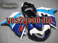 Fairing for SUZUKI TL1000R 98-03 TL-1000R 1998-2003 TL 1000 98 99 00 01 02 03 Blue white body kits
