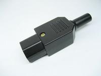 Isointernational power plug adapter power block plug copper nylon shell