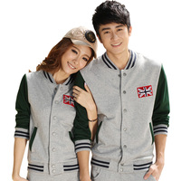 free shipping 2013 hot-selling lovers casual sports set slim sweatshirt sportswear set