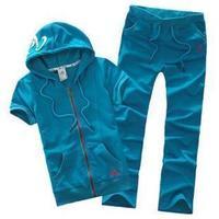 2013 short-sleeve Women sports set slim elegant casual sports clothing