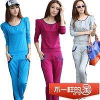 free shipping 2013 women's Women sweatshirt sportswear sports set