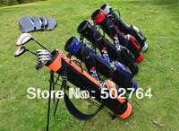 golf bag, golf stand bag, PU stand golf bag, 13 stick, 5 clolors