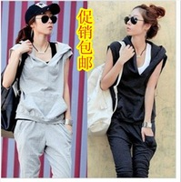 2013 spring and summer women's casual sportswear, sport wears  female,fashion women clothing  free shipping