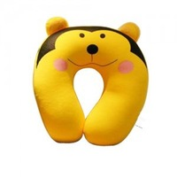Free Shipping High-Grade Particle Cute Monkey Traveling Home Office Pillow U-shape Pillow