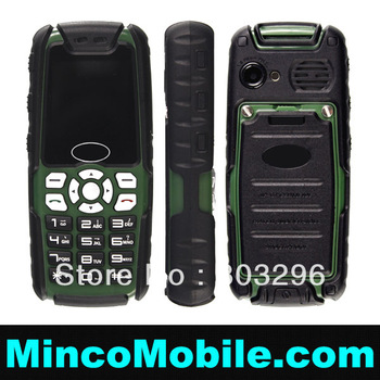 Unlocked Dual SIM Card Mini Car Phone M18 Outdoor Mobile Phone , Mini Mobile Phone with FM / BT / MP3
