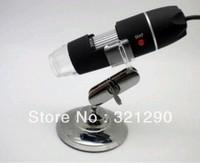 1pc,USB Microscope 200X 2.0 MP 8-LED Digital ,holder stand+Retail Box+Free Shipping