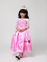 Kids love Los Sleeping Beauty princess dress costumes for girls dance clothes birthday evening dress