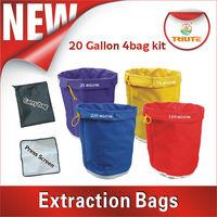 Bubble bag/Extraction bag 20 gallon set of 4 bags