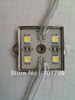 COOL WHITE 5050 SMD LED module,metal case;DC12V,20pcs a string