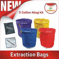 Filter bag 5 gallon set of 4 bags