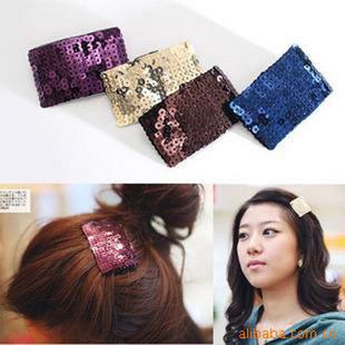 Fashion Bling Hair Pins Cheap Hair Accessory Wholesale Barrettes for Women(China (Mainland))