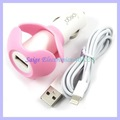 multi-function car charger with winder for ipad mini fpr iphone5 5g