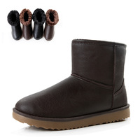 Cheap free shipping 2012 winter shoes male warm shoes snow shoes men's boots snow boots Men cotton-padded shoes a61