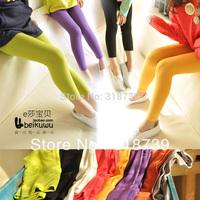 Free shipping, Children's clothing female child skinny pants high waist leggings child