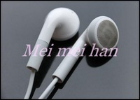 50pcs earphone Headphone For Apple IPhone 4 4s With  Mic Fast  Fee shipping
