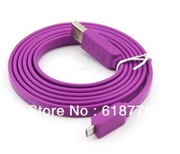 1.5M USB 2.0 Micro USB DATE LINE for HTC/Samsung/Blackberry purple
