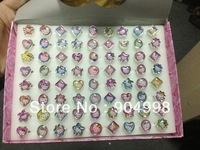 Supper  Cheap Price Hello Kitty Children Rings  Fashion  Rings 72pcs/lot (1 box has 72pcs) Free Shipping