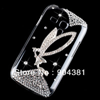 SUPER Fairy Diamond Crystal Bling Hard Back Case For Samsung GALAXY S3 Mini i8190 Phone