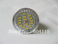 Free Shipping 3 x 6W MR16 SMD 5630 15 LED Spotlight Bulb Light LED lamp LED lights DC 12V