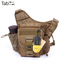 Latest free shipping Tab men super outdoor hiking bag waist pack multifunctional tactical cross-body shoulder  camera bag male