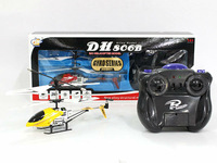 Chlidren's remote control toys DONGHUANG(DH806B-1) 3 Channel mini alloy rc helicopter with Gyro