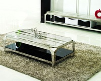 high quality marble tea table living room furniture stainless steel Tv stand home furniture C335