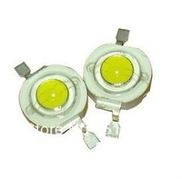 10pcs / lot SMD 1W warm White High Power LED  beads  LED lamp bead 85-95 lumens 3000k~3500k 3.2~3.6v  350ma Free shipping L036