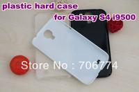 100pcs hard black PC case for samsung galaxy s4 i9500 mobile phone case Wholesale