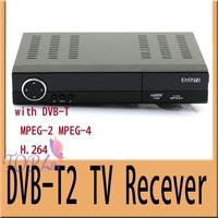 2pcs/lot Freeshipping DVB-T2 HD Digital Terrestrial Receiver  TV Box  DVB T2 Tuner Set top box