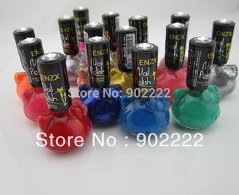15 colors Hello kitty polish DIY Nail Polish Glitter Make Up Nail Art Free shipping