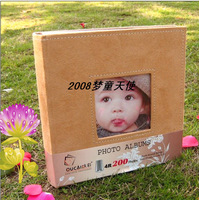 Hot small paragraph of thin notebook baby photo album 200 6 photo album 20