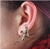 ES222  New Design Wholesale Fashion Retro Dragon Ear Cuff Earring clip Jewelry AAA!!! Free Shipping