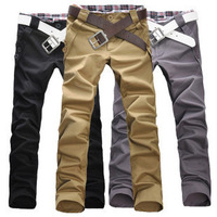 2011 autumn men's flower straight pants slim trousers Men fashion casual pants