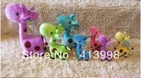 5 pcs/Lot  funny giraffe toys plush toys   soft toys  toys doll cute animal