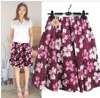Free shipping women bohemia purple short skirt lady skirt good quality