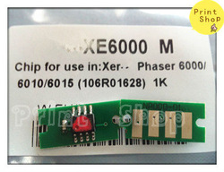 phaser 6000 OEM chips reset for Xerox 106R01634/1631/1632/1633 FREE SHIPPING(China (Mainland))
