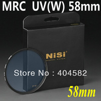 NiSi MRC UV Filter 58mm Lens Filter ultra-thin double-sided multi-coated, waterproof, anti-scratch +Free shipping