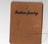 """GET 14% OFF IF BUY 2 LOTS! 7cm x 5cm (2.76"""" x 2"""") craft paper display card  fit earrings, Fashion Jewelry Packaging"""