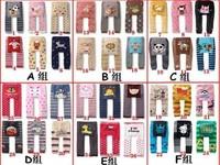 47 Style 5 pcs/lot NEW Arrival Children Kids PP Pants Long Trousers Cartoon Legging Cotton Baby Boys Girls Wear HOT Sale